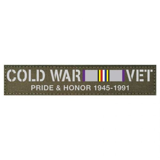COLD WAR NAME TAPE - Military Badges